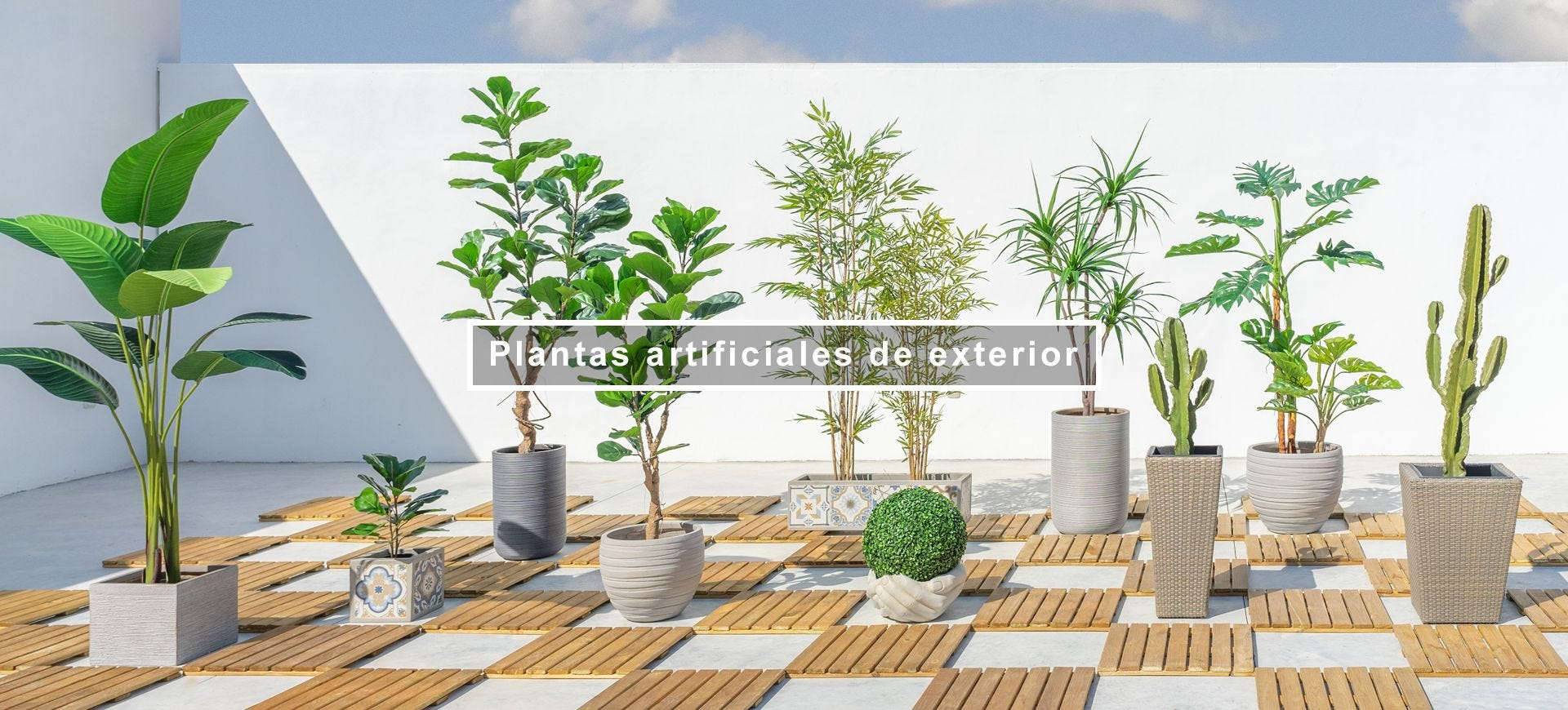 Plantas artificiales de exterior | LDK Garden