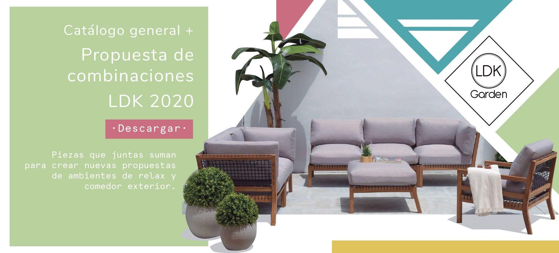 Propuesta de combinaciones + Catálogo 2020 | LDK Garden